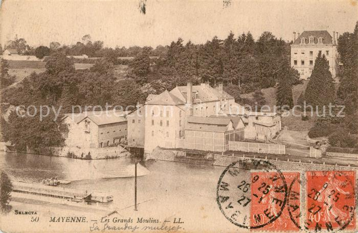 AK / Ansichtskarte Mayenne Les Grands Moulins Mayenne