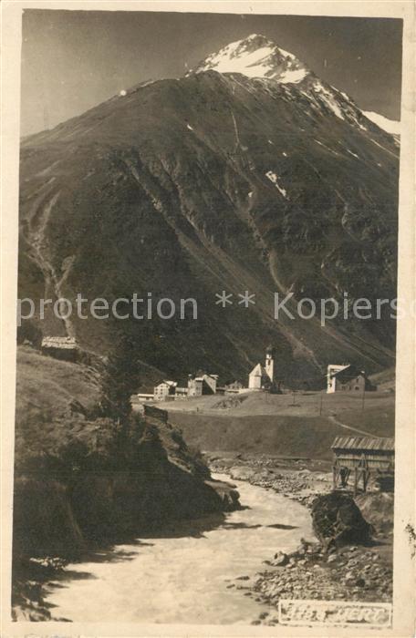AK / Ansichtskarte Vent_Tirol Panorama Vent_Tirol
