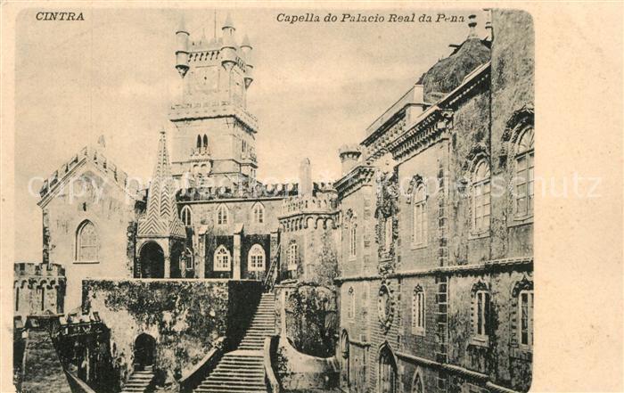 AK / Ansichtskarte Cintra Capella do Palacio Real da Pena Cintra