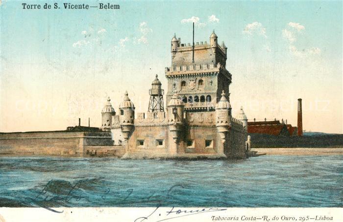 AK / Ansichtskarte Belem_Lisboa Torre de San Vicente Belem_Lisboa