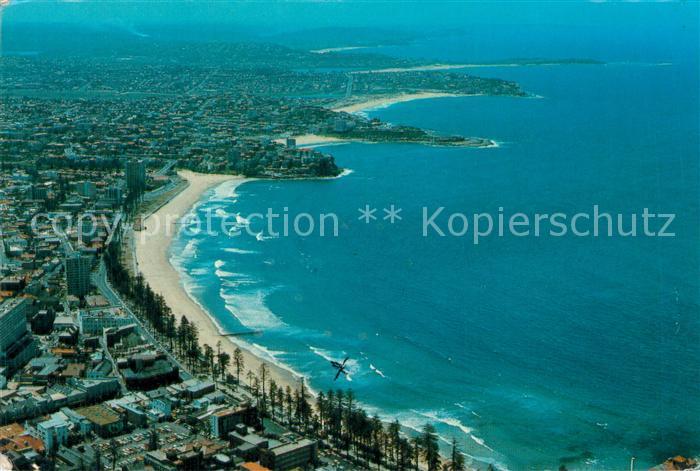 AK / Ansichtskarte Manly_Northern_Beaches Aerial view