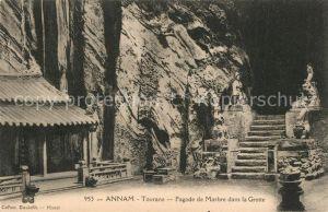 AK / Ansichtskarte Tourane Pagode de Marbre dans la Grotte Tourane