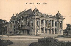 AK / Ansichtskarte Tonkin Hanoi Theatre Tonkin