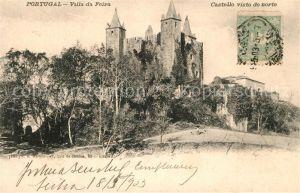 AK / Ansichtskarte Santa_Maria_da_Feira Villa da Feira Castello visto do norte