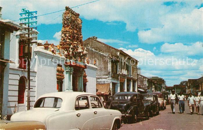 AK / Ansichtskarte Penang Mariamman Temple Queen Street Penang