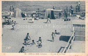 AK / Ansichtskarte Lion sur Mer Un coin de la plage Lion sur Mer