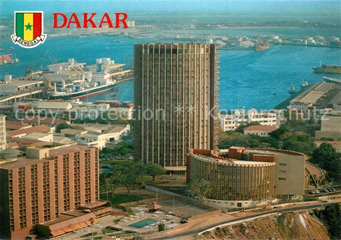 AK / Ansichtskarte Dakar Hotels Bceao Cofeb und Novotel Dakar
