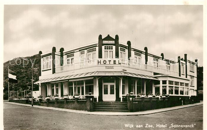 AK / Ansichtskarte Wijk_aan_Zee Hotel Sonnevanck Wijk_aan_Zee