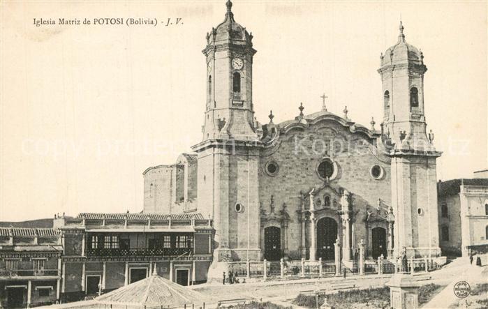 AK / Ansichtskarte Potosi_Potosi Iglesia Matriz Potosi Potosi
