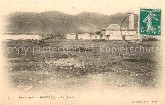 AK / Ansichtskarte Alger_Algerien Mecheria Village Alger Algerien