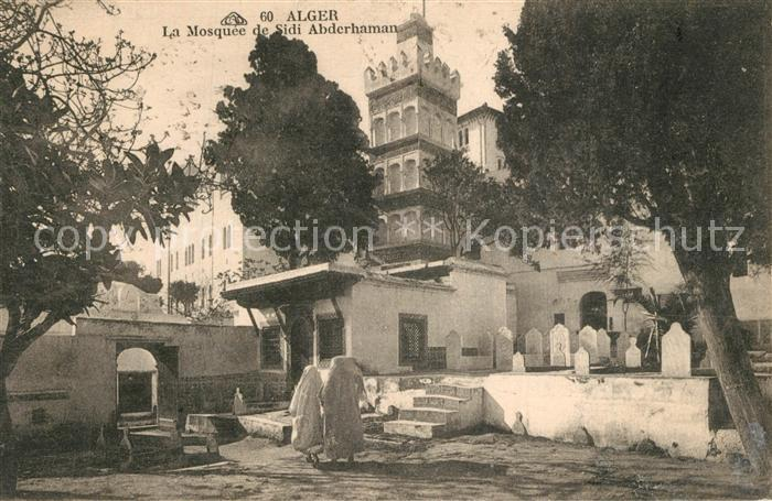 AK / Ansichtskarte Alger_Algerien Mosquee de Sidi Abderhaman Alger Algerien