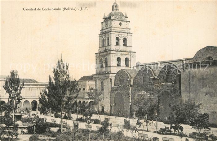 AK / Ansichtskarte Cochabamba Catedral  Cochabamba
