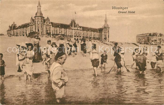 AK / Ansichtskarte Vlissingen Grand Hotel Strand Vlissingen