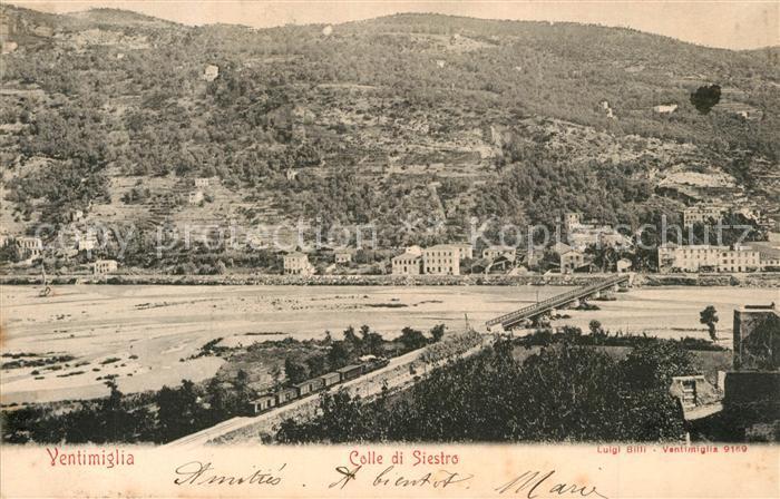 AK / Ansichtskarte Ventimiglia_Liguria Colle di Siestro