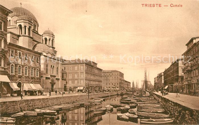 AK / Ansichtskarte Trieste Canale Trieste