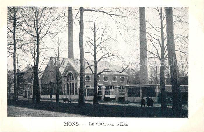 AK / Ansichtskarte Mons_Ales Le Chateau d Eau Mons_Ales