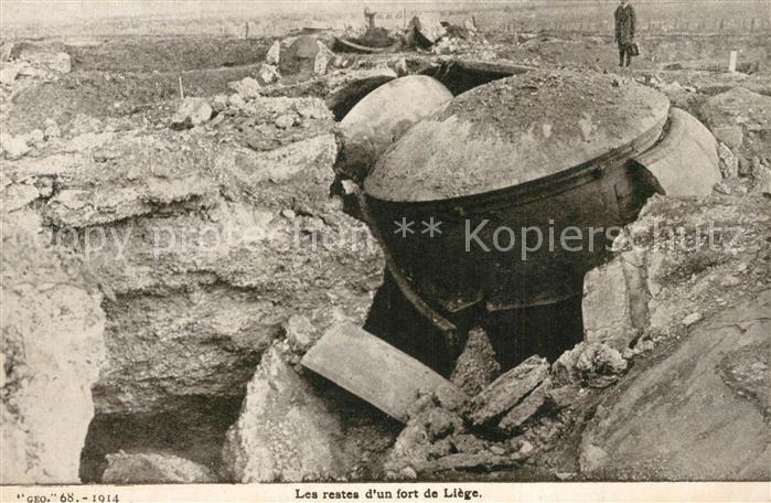 AK / Ansichtskarte Liege_Luettich Les Restes d un fort Liege Luettich