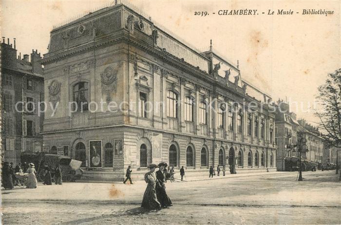 AK / Ansichtskarte Chambery_Savoie Le Musee Bibliotheque Chambery Savoie