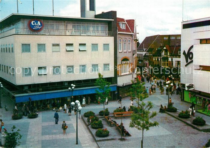 AK / Ansichtskarte Hilversum Winkelpromenade Kerkstraat Hilversum