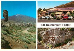 AK / Ansichtskarte La_Orotava Bar Restaurante Teide Felsen Vulkan La_Orotava