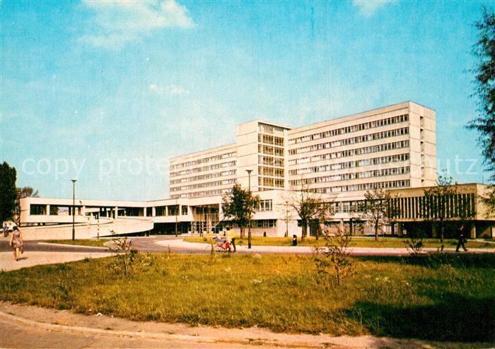AK / Ansichtskarte Lodz Szpital Miejski im. Mikolaja Kopernika Krankenhaus Lodz