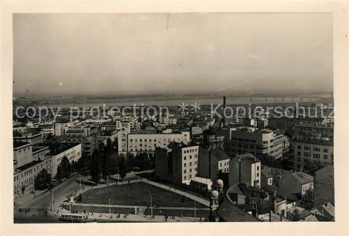 AK / Ansichtskarte Beograd_Belgrad Panorama Beograd Belgrad