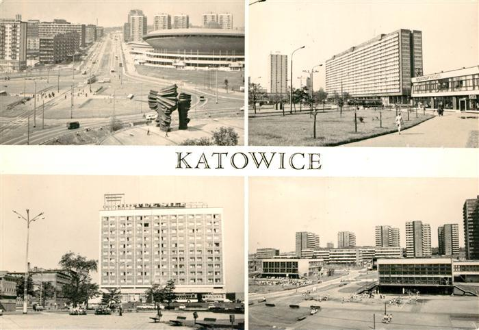 AK / Ansichtskarte Katowice Hotel Silesai  Katowice