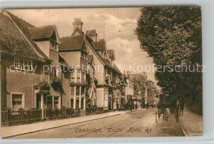 AK / Ansichtskarte Cambridge_Cambridgeshire Castle Hotel Cambridge Cambridgeshire