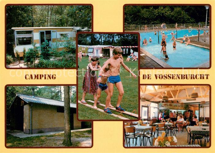 Ijhorst Camping De Vossenburcht Schwimmbad Gaststaette Ijhorst