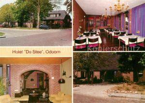 Odoorn_Borger Hotel De Stee Speisesaal Gastraum Odoorn Borger