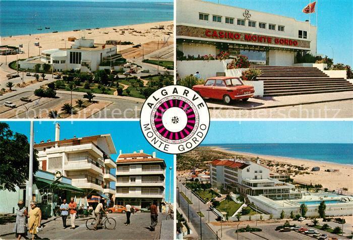 Monte_Gordo Strand Casino Ortsmotiv Monte Gordo