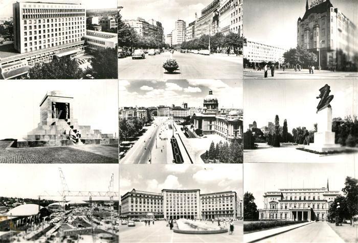 Beograd_Belgrad Teilansichten Sehenswuerdigkeiten Denkmal Beograd Belgrad