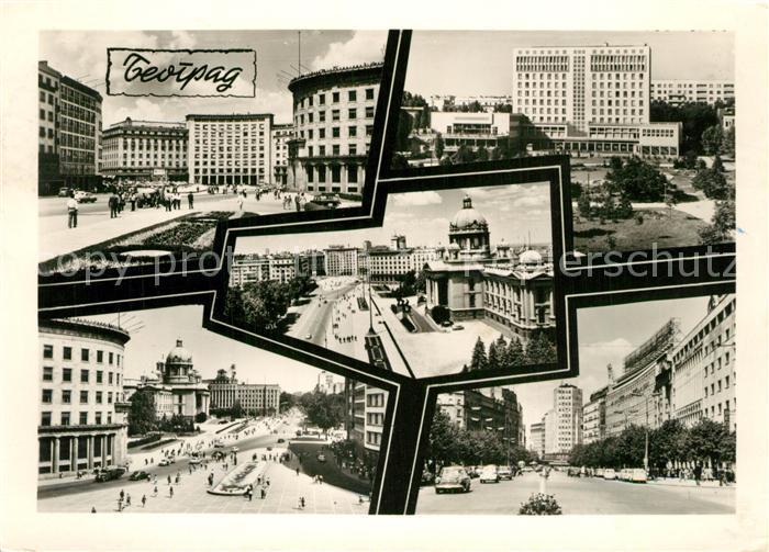 Beograd_Belgrad Stadtansichten Gebaeude Beograd Belgrad