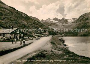 Vermuntstausee Alpengasthof Silvretta gegen Litznergruppe Alpen Vermuntstausee