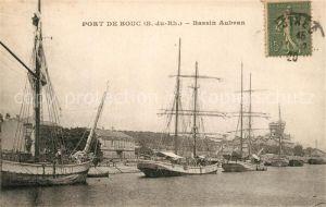AK / Ansichtskarte Port de Bouc Bassin Aubran Port de Bouc