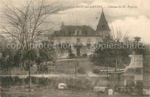 AK / Ansichtskarte Rion des Landes Chateau de Poisson Rion des Landes