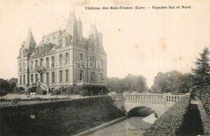 AK / Ansichtskarte Verneuil sur Avre Chateau des Bois Franc Verneuil sur Avre