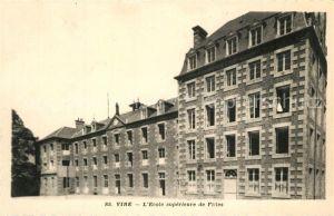 AK / Ansichtskarte Vire_Calvados Ecole superieure de Filles Vire Calvados