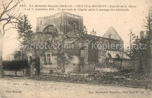 AK / Ansichtskarte Heiltz le Maurupt Bataille de la Marne Heiltz le Maurupt