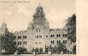 AK / Ansichtskarte Bombay_Mumbai Office Bombay Mumbai
