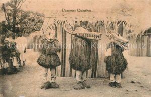 AK / Ansichtskarte Guinea Danseurs Guineens Guinea