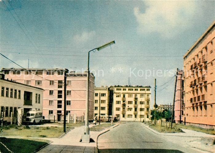 AK / Ansichtskarte Lodz Quartier residentiel Zubardz Lodz
