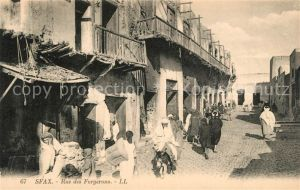 AK / Ansichtskarte Sfax Rue des Forgerons Sfax