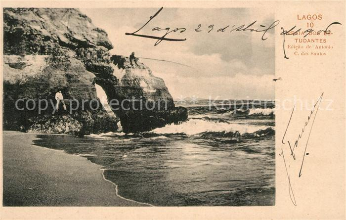 AK / Ansichtskarte Lagos_Algarve_Portugal Tudantes Edicao de Antonio C dos Santos