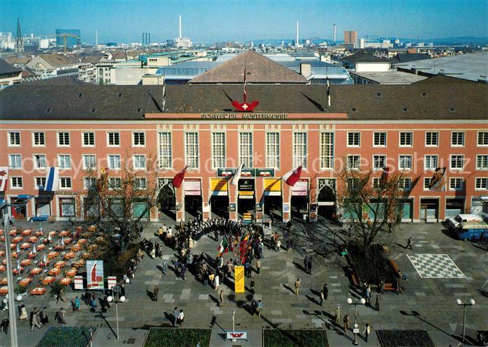 AK / Ansichtskarte Basel_BS Messegebaeude Schweizer Mustermesse Basel_BS