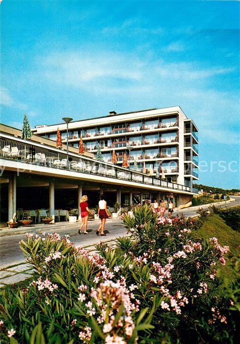 AK / Ansichtskarte Ulcinj Hotel Albatros Ulcinj