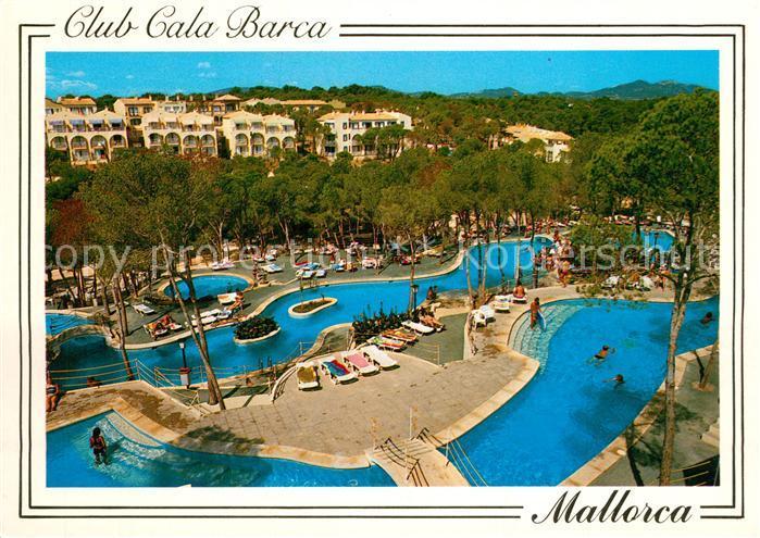 AK / Ansichtskarte Santanyi_Islas_Baleares Club Cala Barca Cala Barca Trencada Santanyi_Islas_Baleares