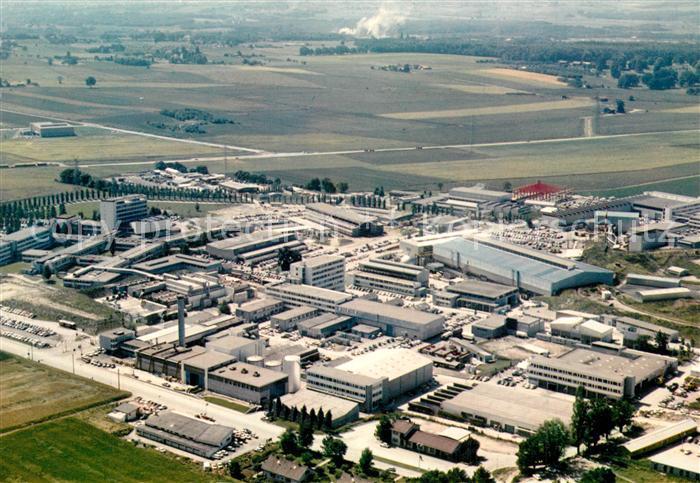 AK / Ansichtskarte Genf_GE Europaeische Organisation fuer Kernforschung CERN Fliegeraufnahme Genf_GE