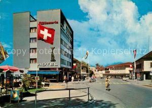 AK / Ansichtskarte Kreuzlingen_Bodensee Hotel Schweizerland Kreuzlingen Bodensee