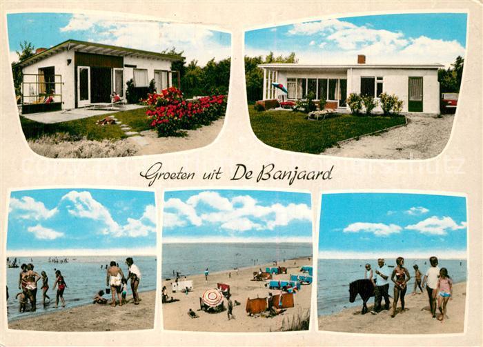 AK / Ansichtskarte De_Banjaard Bungalows Strand De_Banjaard